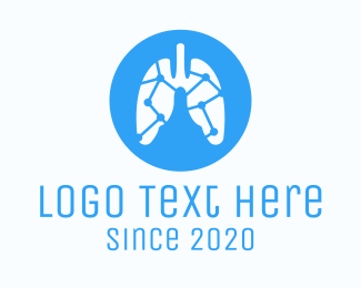Researcher - Lung Medical Diagnostic Lab logo design