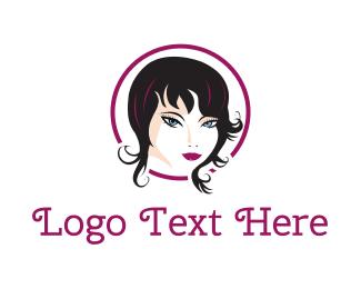 Hairdressing - Fashion Woman logo design