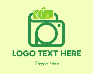 Wallet - Photo Wallet logo design
