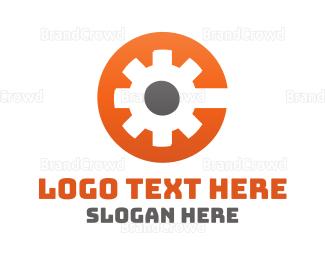 Engineering - Orange Engine logo design