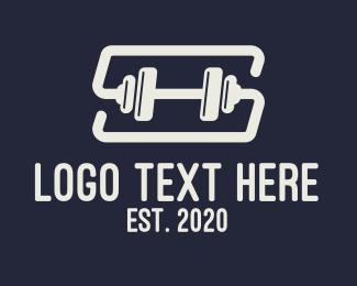 Fitness Gym - Fitness Gym Letter S logo design