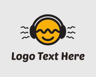 Street - Tune In Yellow Circle logo design