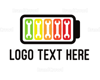 Complete - Wrench Battery logo design