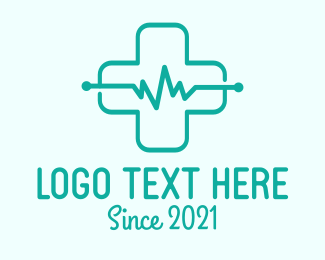 Impulse - Green Medical Care logo design