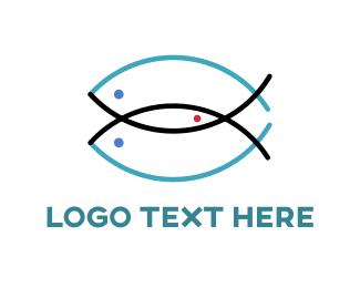 Combination - Three Fish Logo logo design