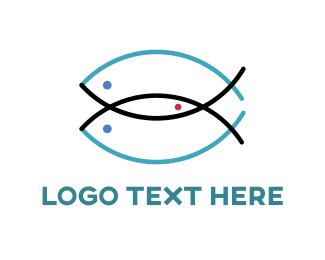 Combination - Three Fish Logo logo design