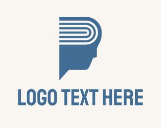 Review - Book Brain Education logo design