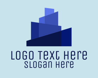 Skyline - Blue City Skyline logo design