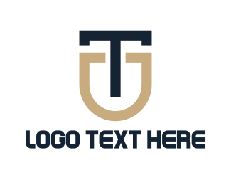 Accessory - Luxury Monogram TU logo design