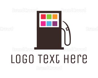 Petroleum - Pump App  logo design