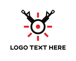 Target - Gun Target logo design