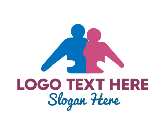 Together - Family Support logo design