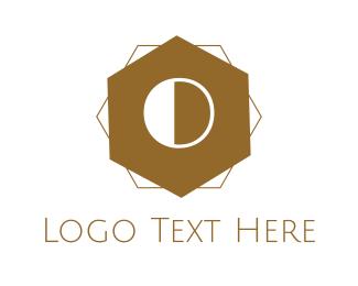 Letter O - Steampunk Letter O logo design