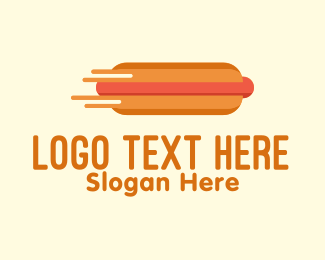 Buns - Fast Hot Dog Stand logo design