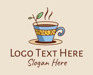 Tea - Tea Cup logo design