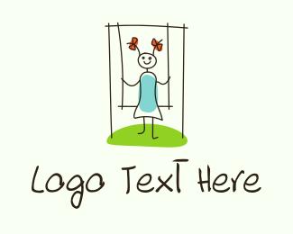 """Children Playground Drawing"" by LogoRU"