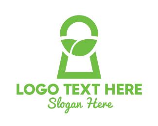 Access - Green Secret Garden logo design