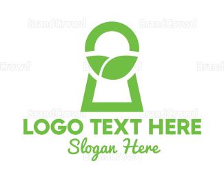 Garden - Green Secret Garden logo design