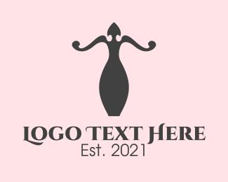 Decor - Fashion Mannequin logo design