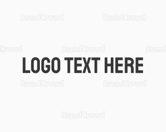 Blocks - Strong Bold Text logo design
