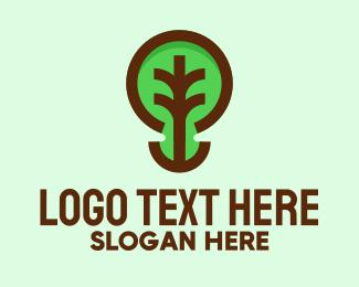 Orchard - Modern Natural Tree  logo design