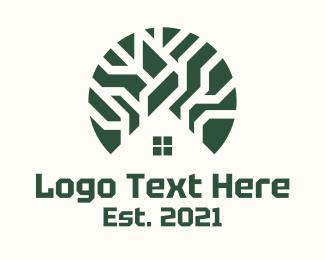 Guide - Navigation Circuit Home logo design
