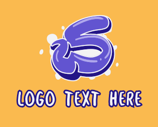 Lively - Blockbuster Graffiti Letter S logo design