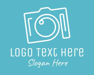 Fancy - Fancy Camera Monoline logo design