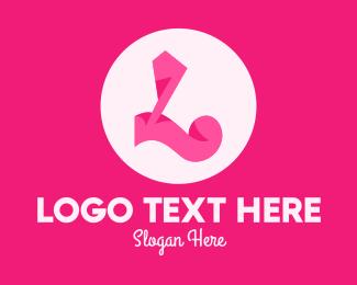 Beauty Parlour - Pink Fashion Letter L logo design