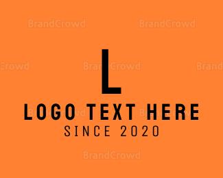 Computing - White Modern Letter M logo design