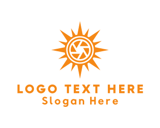Sunrise - Solar Camera logo design