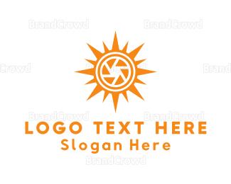 Cameraman - Solar Camera logo design