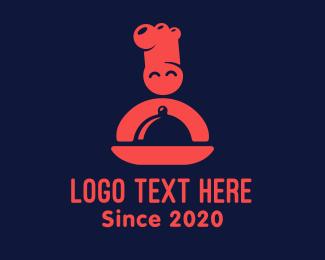 Chef - Happy Chef Restaurant logo design