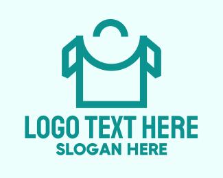 Shirt - Shopping Bag Shirt  logo design