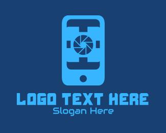 Mobile Phone - Phone Camera App logo design