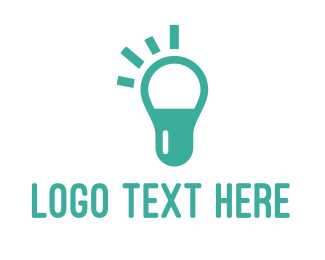 Bulb - Pill Bulb logo design