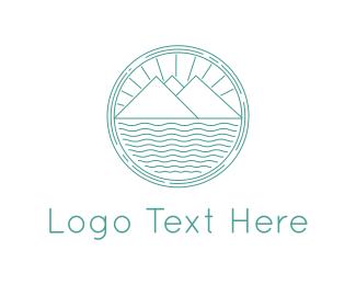Agriculture - Landscape Circle logo design