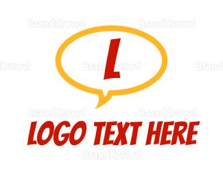 Comic Book - Comic Bubble logo design