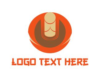 Chakra - Zen Buddha logo design