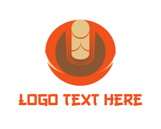 Physical - Zen Buddha logo design