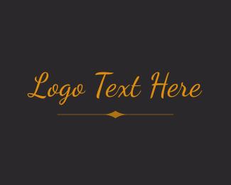 Legend - Elegant Cursive  Wordmark logo design