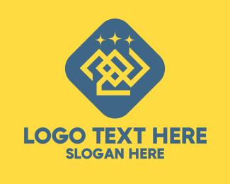 Generic - Generic Crown & Stars logo design