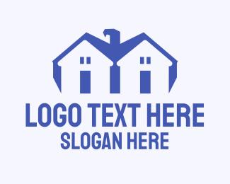 Estate Agency - Eagle Homes logo design