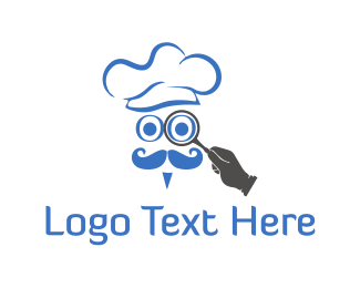 Research - Chef Finder logo design