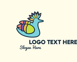 Tropical - Tropical Parrot logo design