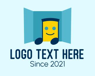Room - Music Room Mascot logo design