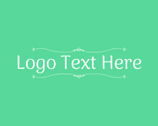 Ornamental - Minimalist Ornamental Wordmark logo design