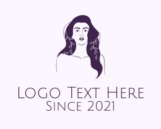 Purple - Purple Purple Woman logo design