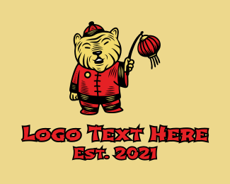 Tiger - Chinese Tiger Mascot logo design