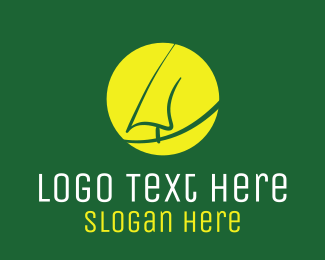 Tree Sunset  Logo
